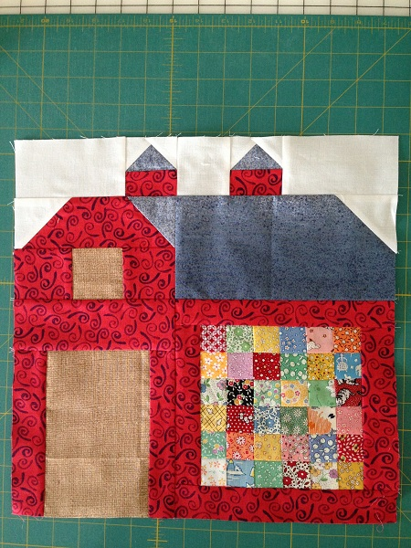 The Quilty Barn Along Block 3 171 Quilting Linda
