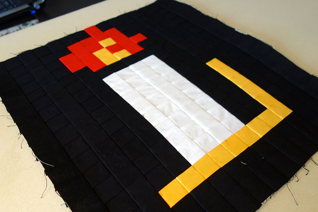 Zelda: The Quilt-Along -- The Candle